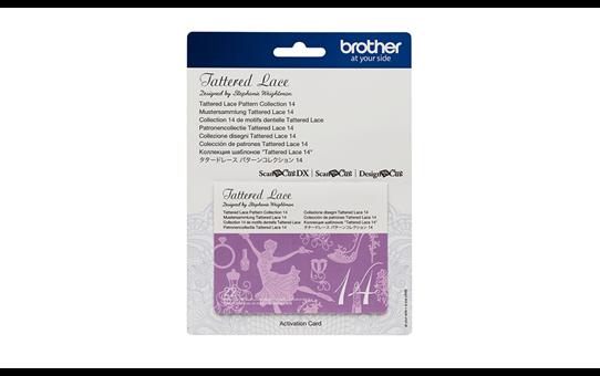 ScanNCut Tattered Lace-Kollektion 14 CATTLP14 2