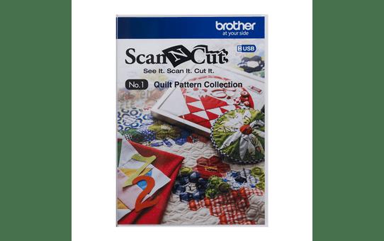 Collection de motifs de Quilting (courtepointe) CAUSB1 pour ScanNCut