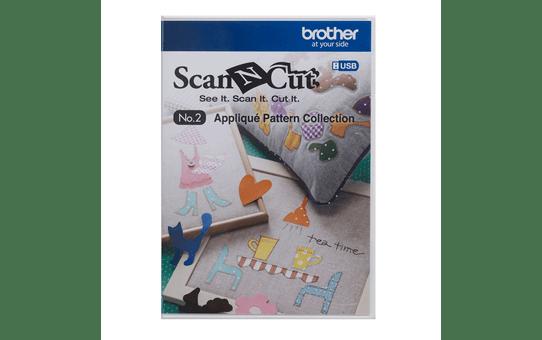 Collezione disegni per applicazioni CAUSB2 per ScanNCut
