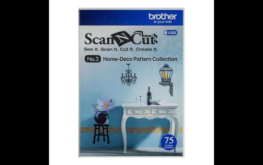 ScanNCut Woondecoratie Snijpatronencollectie CAUSB3