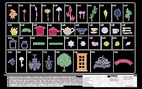 USB No. 3 Коллекция рисунков для домашнего декора CAUSB3 3