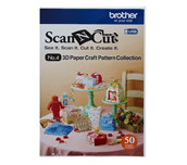 Collection de patrons artisanaux papier 3D CAUSB4 pour ScanNCut