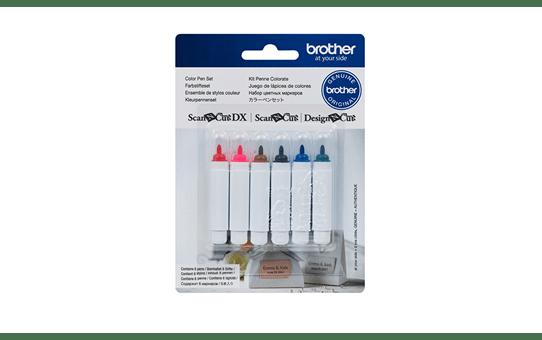 ScanNCut Set van 6 kleurstiften CAPEN1