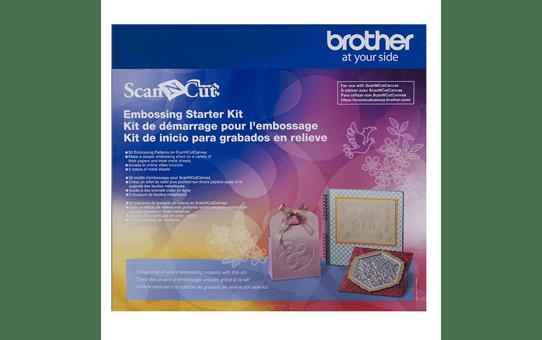 Starter kit di embossing Brother CAEBSKIT1 per ScanNcut
