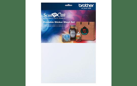 ScanNCut Printable Sticker Sheet Set CAPSS1