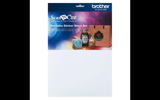 ScanNCut Set mit bedruckbaren Aufkleberbogen CAPSS1