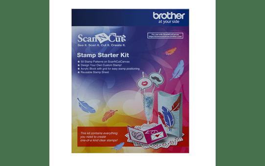 ScanNCut Stempel Starter Kit CASTPKIT1