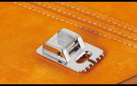 Fijne plisseervoet 5mm F037N (5geleiders)