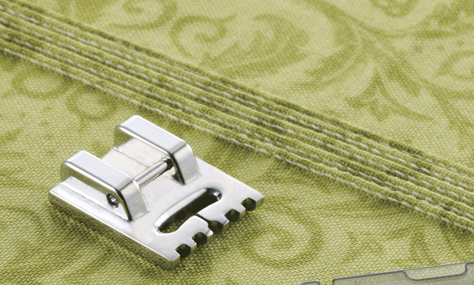 7mm Pin Tuck Foot F069 (5-groove)
