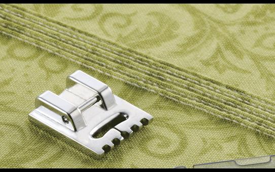 Pied 5 nervures pour plis cousus 7mm F069