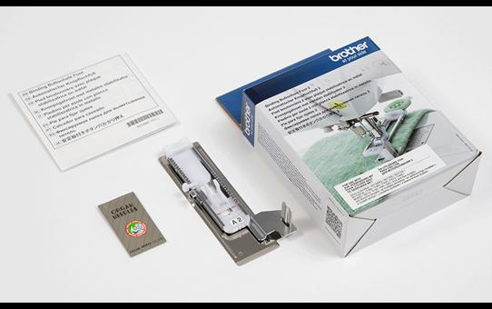 Pied boutonnière A2 avec plaque stabilisatrice en métal F084*
