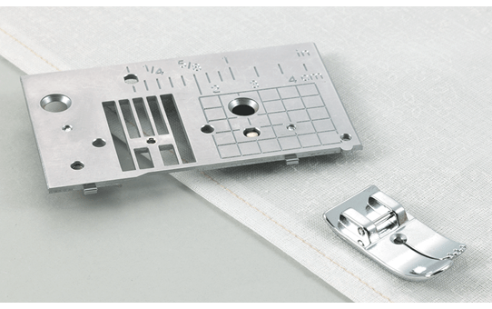 Straight Stitch Foot and Straight Stitch Needle Plate SNP02