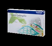Kit quilting créatif QKF3 avec machine à coudre F400 et quilt coloré