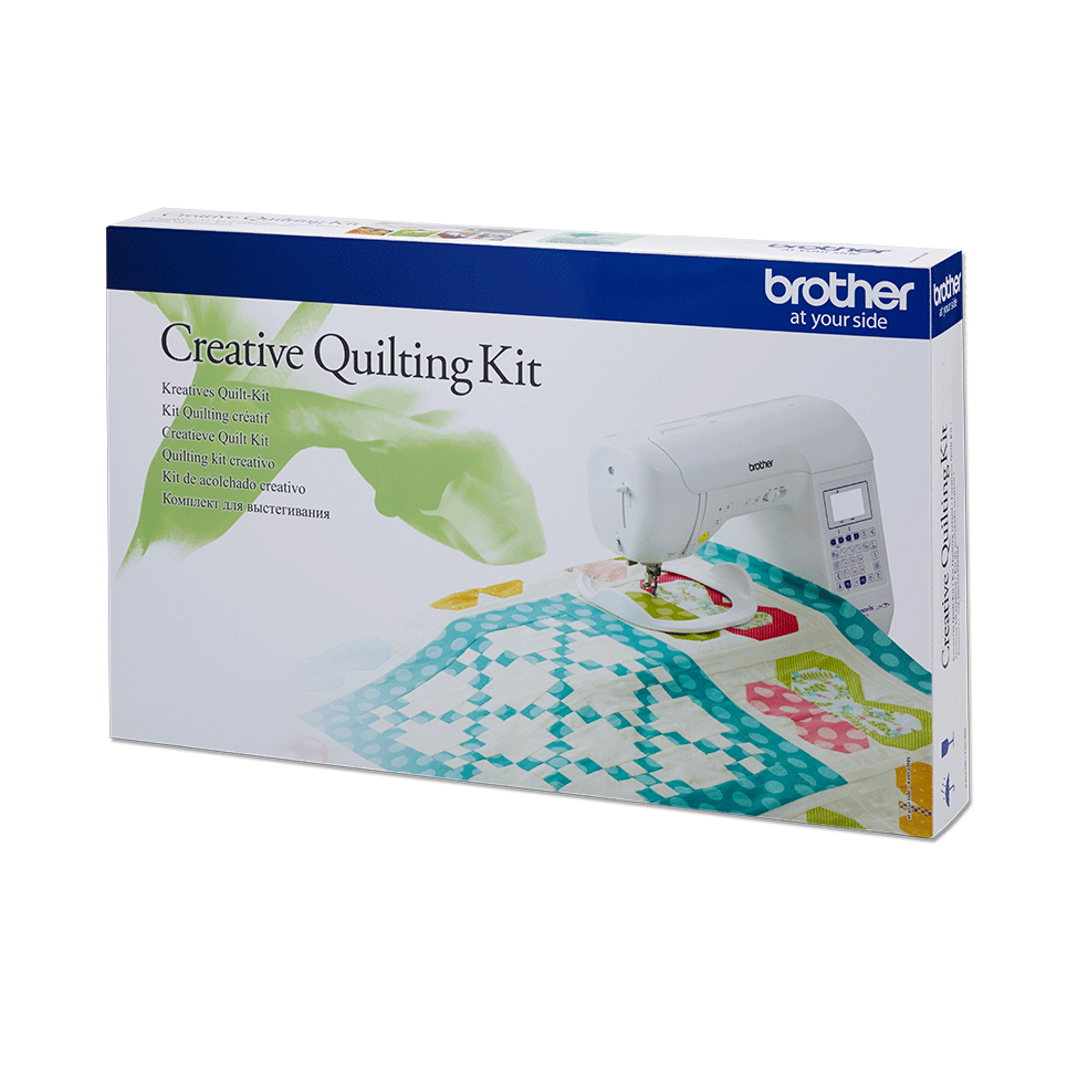 Kit per quilting creativo Brother QKF3