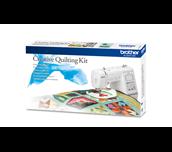 Kit quilting créatif QKM2 avec machine à coudre A150 et quilt coloré