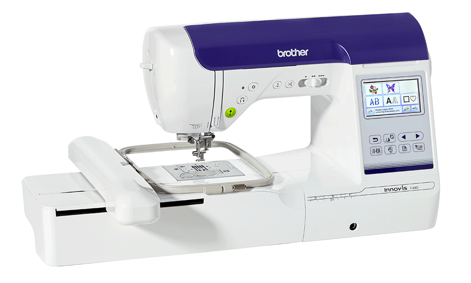 Innov-is F480 sewing and embroidery machine 2