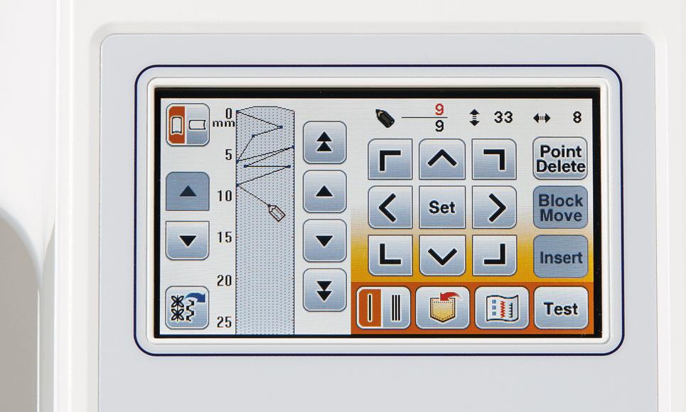 Innov-is F480 Näh- und Stickmaschine 6