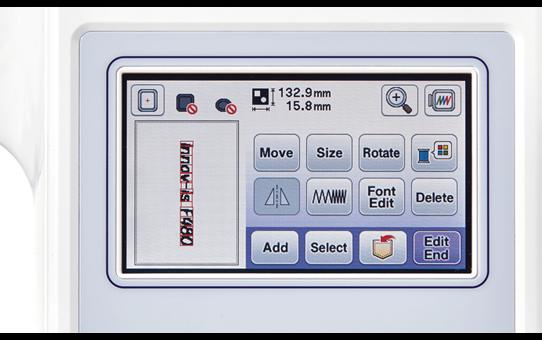 Innov-is F480 швейно-вышивальная машина 7