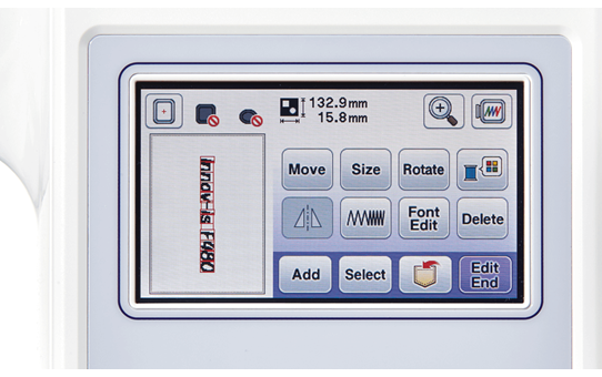Innov-is F480 naai- en borduurmachine 7