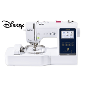 Innov-is M280D Disney sewing and embroidery combination machine side