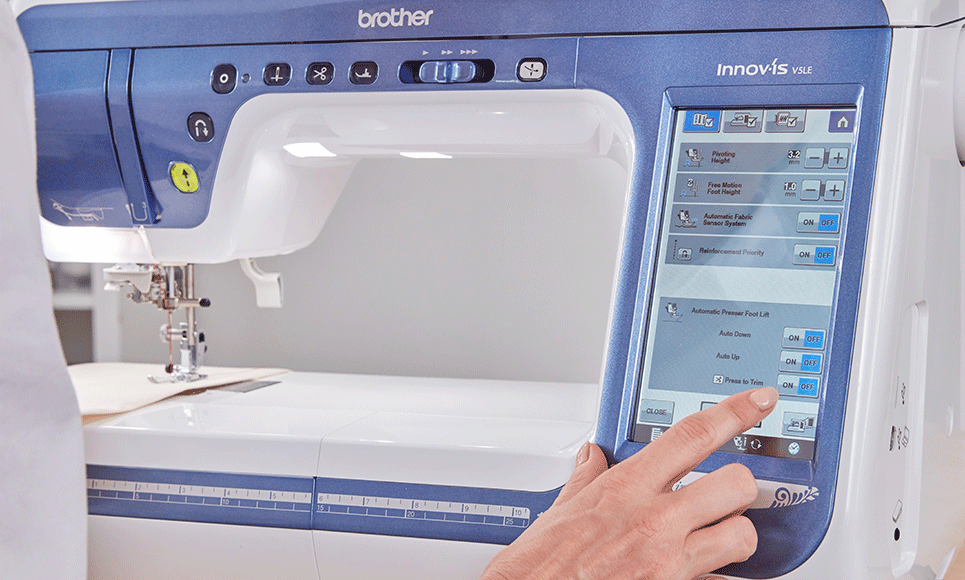 Innov-is V5LE sewing, quilting and embroidery machine 8