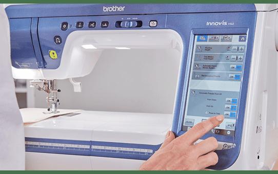 Innov-is V5LE швейно-вышивальная машина  8