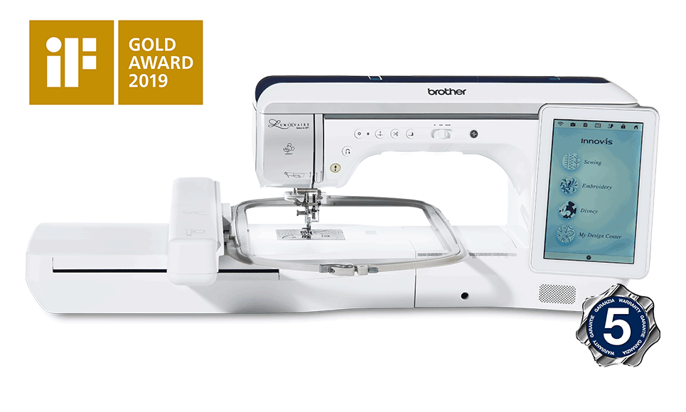 Innov-is-Luminaire-XP1 Sewing, Quilting and Embroidery Machine
