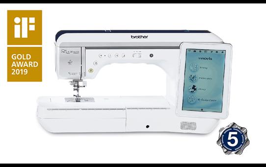 Innov-is-Luminaire-XP1 naai-, quilt- en borduurmachine 2
