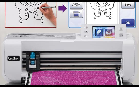 ScanNCut CM300 snijmachine voor thuis- en hobbygebruik 7