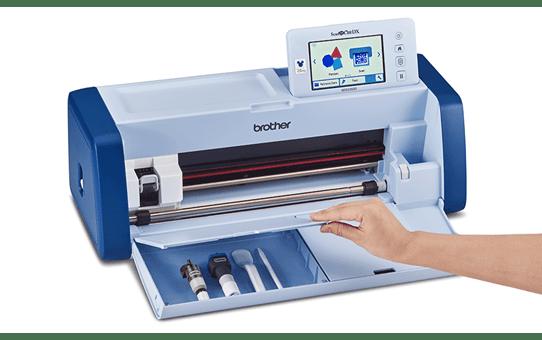 ScanNCut SDX2250D Disney macchinahobbistica pertaglio e scansione 7