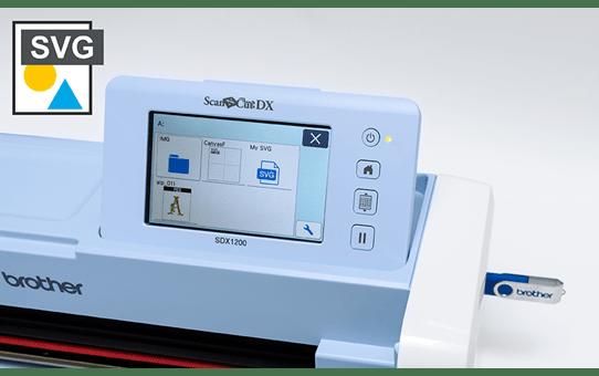 ScanNCut SDX1000 snijmachine voor thuis- en hobbygebruik 4