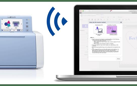 ScanNCut SDX1000 Machine de découpe & traçage personnelle  5