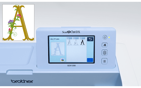 ScanNCut SDX1200 Snijmachine voor thuis- en hobbygebruik 6