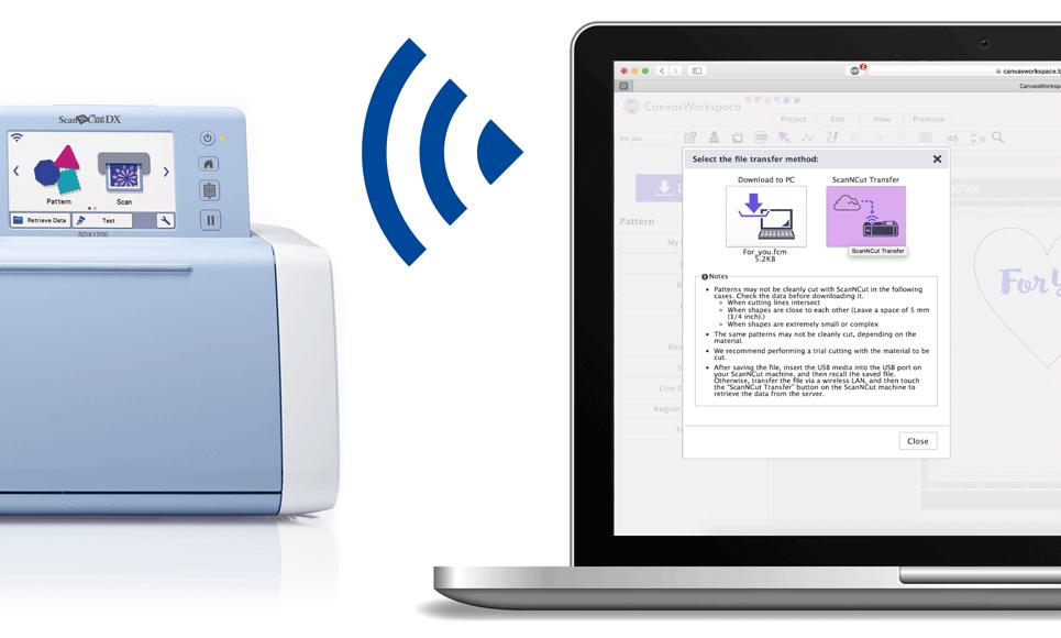 ScanNCut SDX1200 Snijmachine voor thuis- en hobbygebruik 8