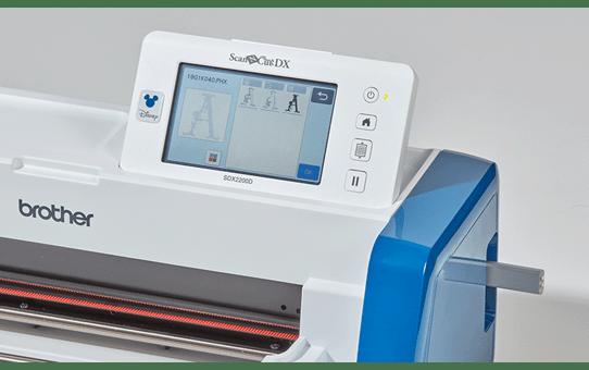 ScanNCut SDX2200D Disney Schneidemaschine für Heim und Hobby 9