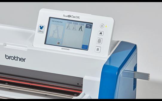 ScanNCut SDX2200D Disney thuis- en hobby-snijmachine  9