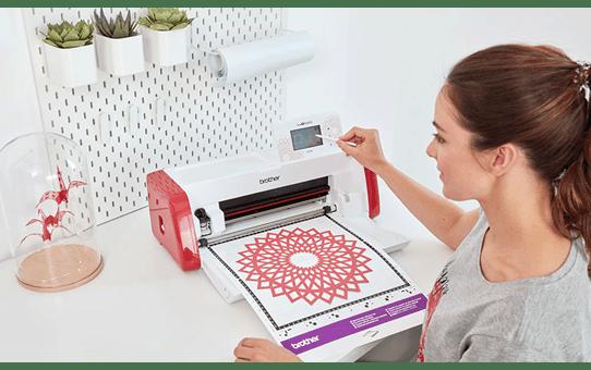 ScanNCut SDX900  Schneidemaschine für Heim und Hobby 12