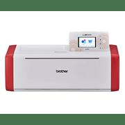 ScanNCut SDX900 Maschine in Weiß und Rot