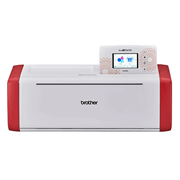 ScanNCut SDX900 white and red machine