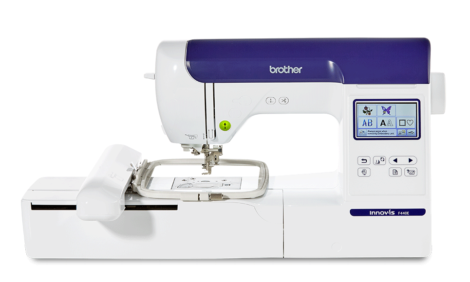 Innov-is F440E embroidery machine