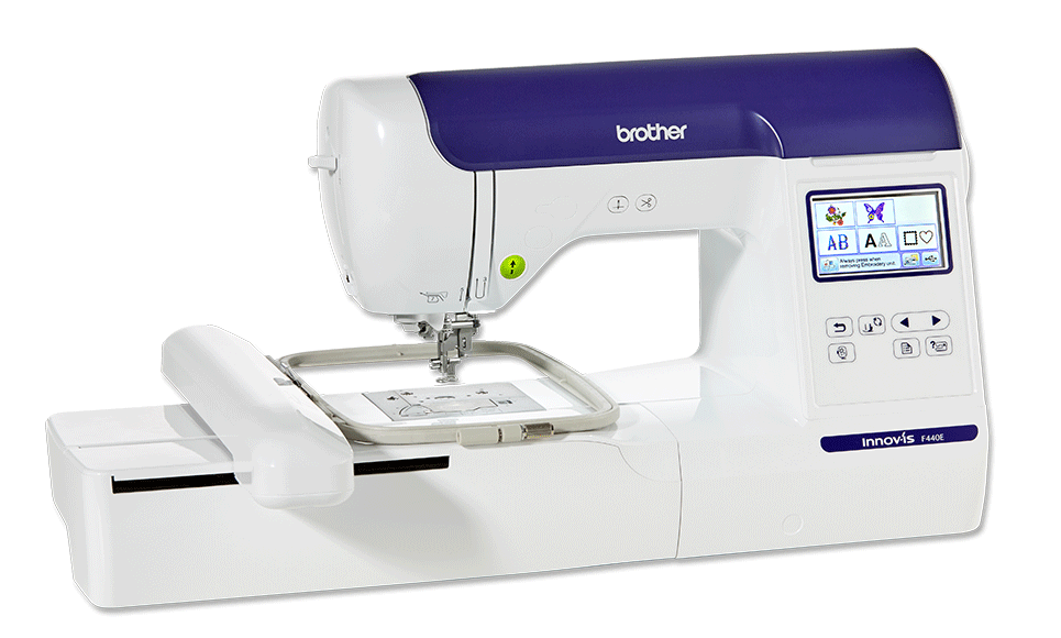 Innov-is F440E embroidery machine 2