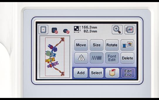 Innov-is F440E embroidery machine 5