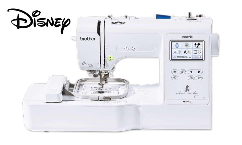 Innov-is M240ED Disney embroidery machine for beginners