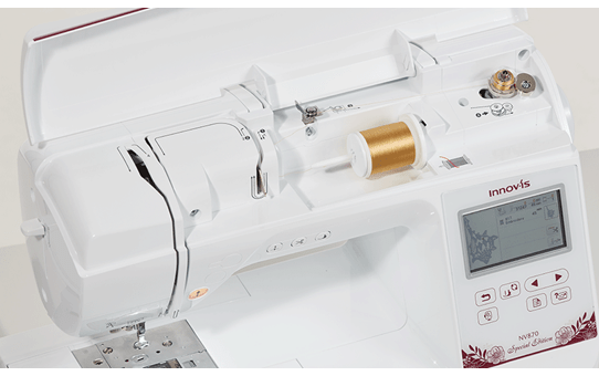 NV870 Special Edition embroidery machine 6