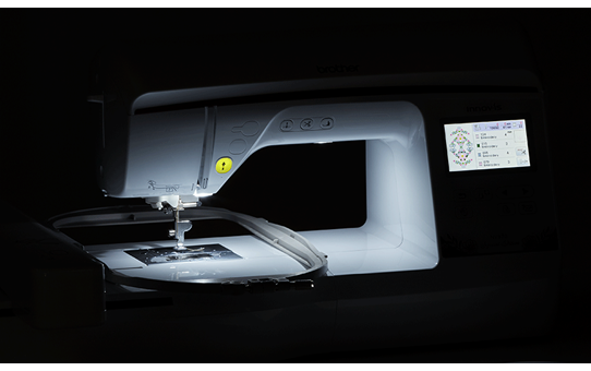 NV870 Special Edition embroidery machine 8