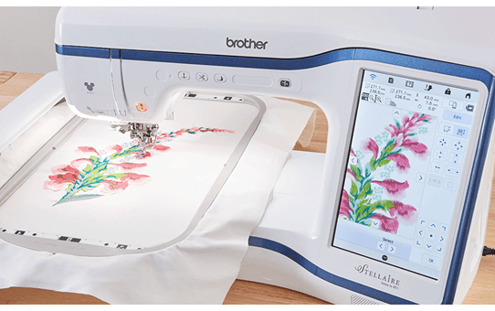 Innov-is Stellaire XE1 embroidery machine 10