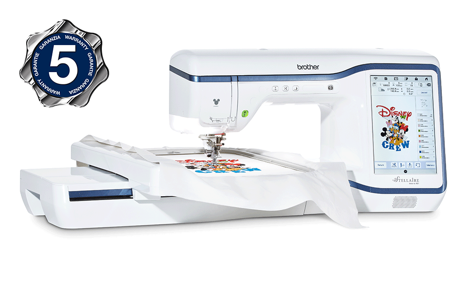 Innov-is Stellaire XE1 embroidery machine