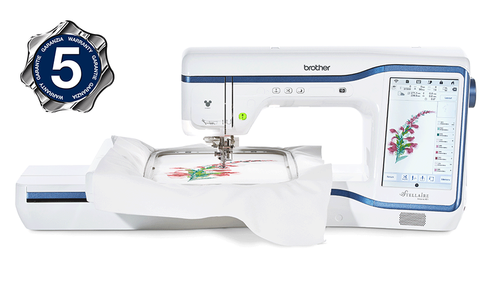 Innov-is Stellaire XE1 embroidery machine 2