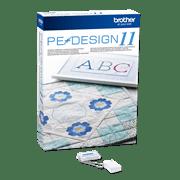 Logiciel de numérisation de broderies PE Design11 avec clé USB