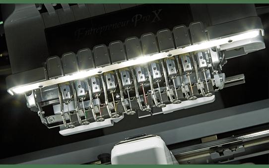 PR1050X профессиональная вышивальная машина 6